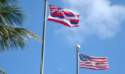 Hawaii Statehood Flags