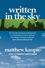 Written in the Sky by Matthew Kaopio